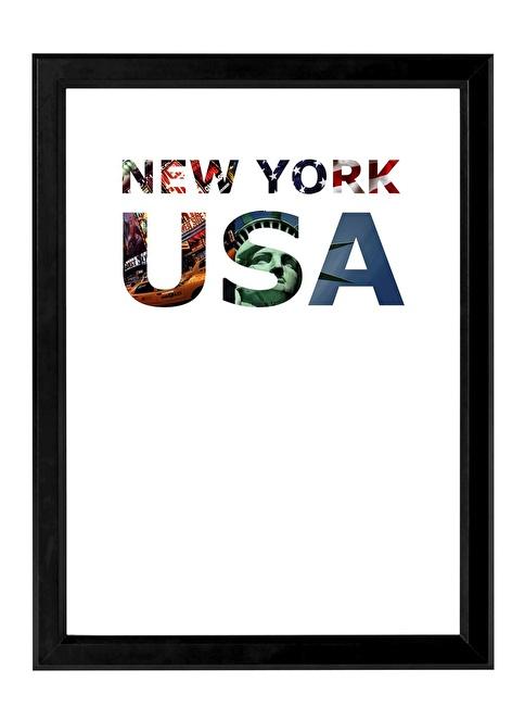 Decarthome New York Anı Çerçevesi 30x40 cm Siyah